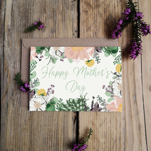 Happy Mother's Day Card - Mint