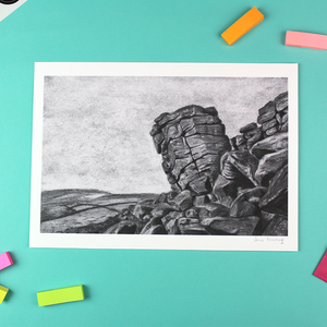 Higgar Tor (The File), Unframed Giclee Reproduction, A4