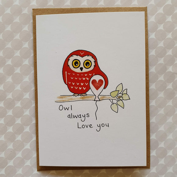 'Owl' Always Love You card