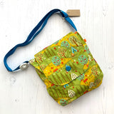 Woodland Camping Reversible Shoulder Bag