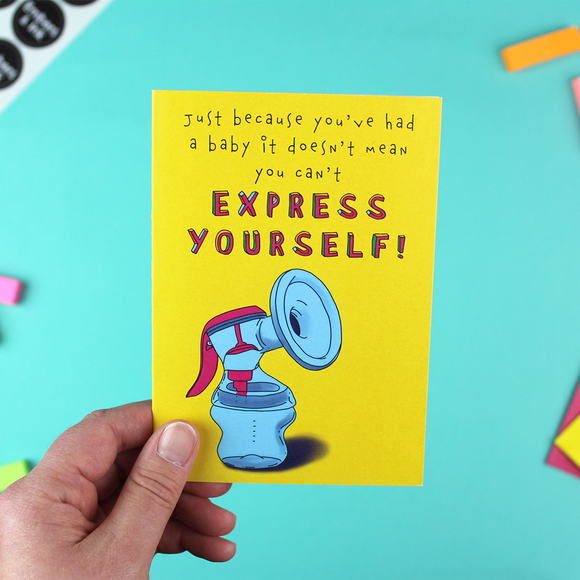 Express Yourself Greetings Card