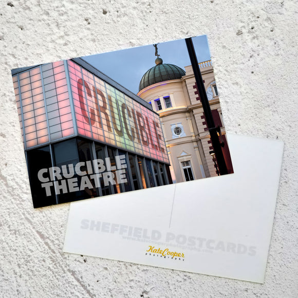 Postcard Crucible Theatre