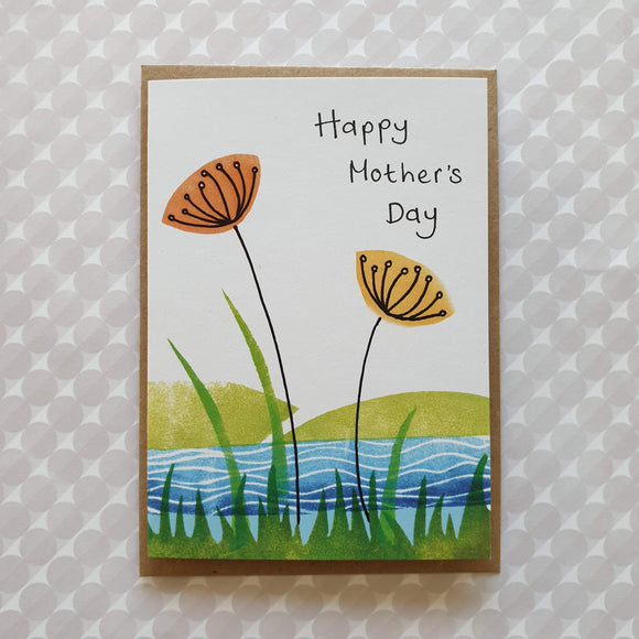 'Happy Mother's Day' Wildflower Riverside Card