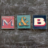 "Sheffield Typography Magnet ""B"""