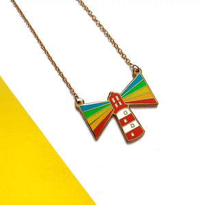 Radiate Rainbows Necklace