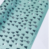 Ski Wrapping Paper Sheet
