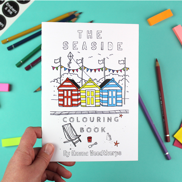 The Seaside Colouring Book