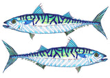 """Two Mackerels"" fine art print"
