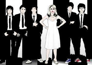 """Unparalleled"" Blondie illustration fine art print"