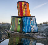 Recycled Climbing Rope Vert Chalk Bag - Water