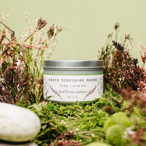 North Yorkshire Moors Soy Candle