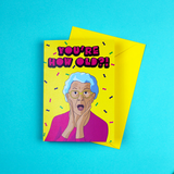 You're How Old?! A6 Birthday Greetings Card