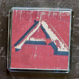 "Sheffield Typography Magnet ""A"""