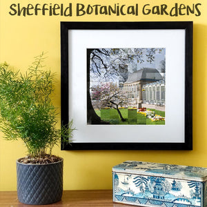 """100 Remnants of Sheffield Botanical Gardens"" Photo Montage"