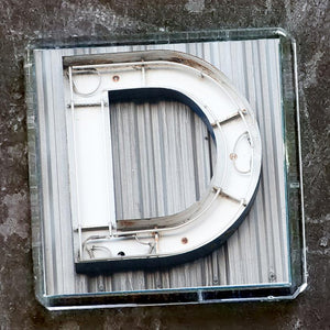 "Sheffield Typography Magnet ""D"""