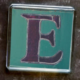 "Sheffield Typography Magnet ""E"""