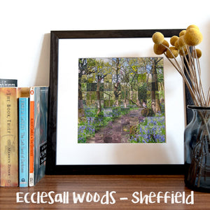 """100 Remnants of Ecclesall Woods"" Photo Montage"