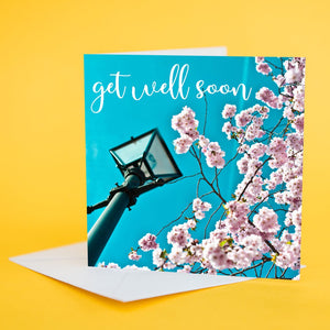 "Art Card ""Get Well Soon Blossom"""