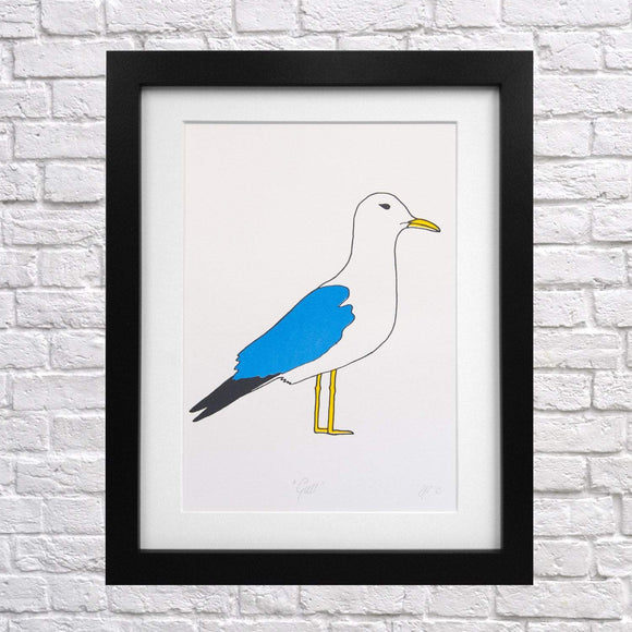 Seagull Screen Print