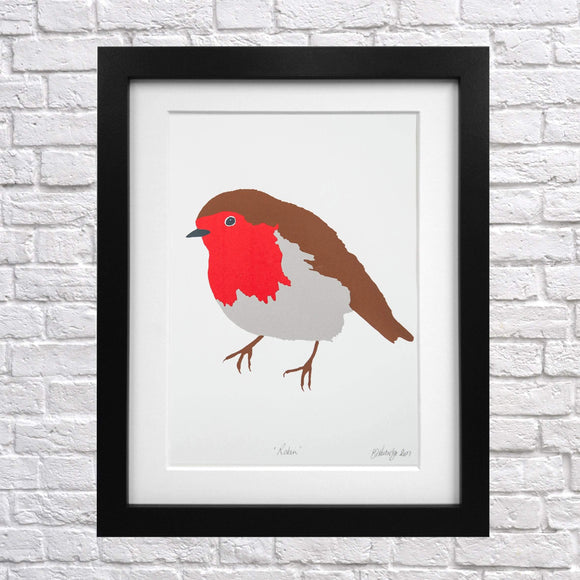Robin Screen Print
