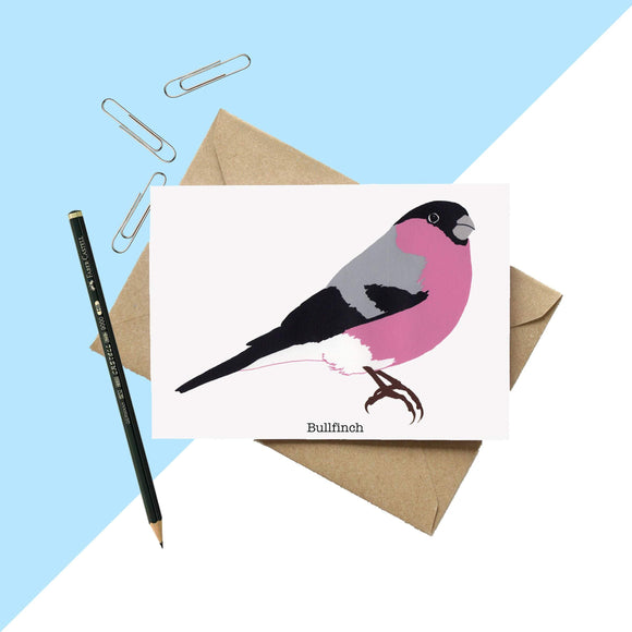 Bullfinch Greetings Card