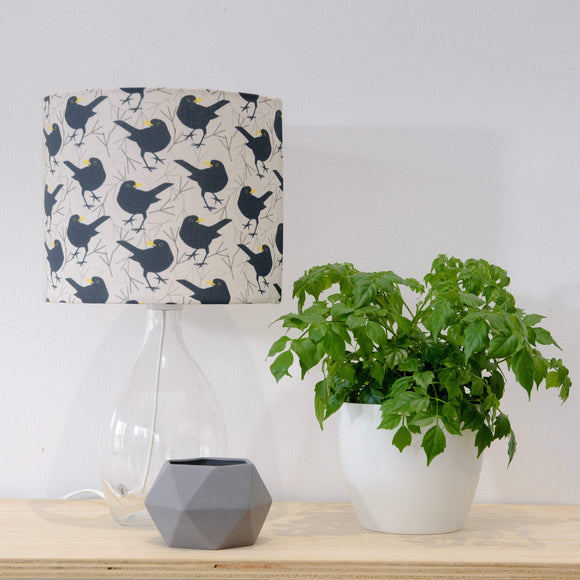 Blackbird Lampshade