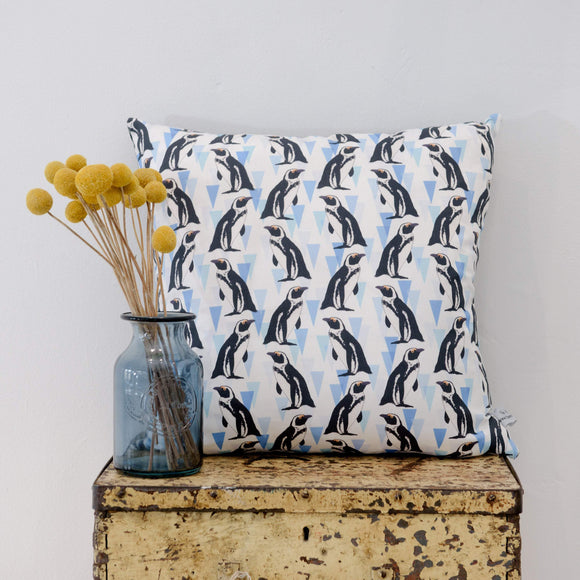 African penguin Print Cushion