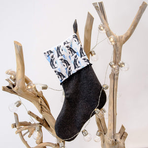 African penguin Print Christmas Stocking