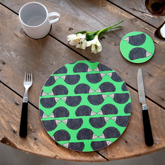 Hedgehog Print Placemat
