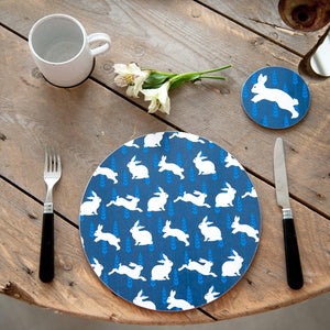 Rabbit print Placemat