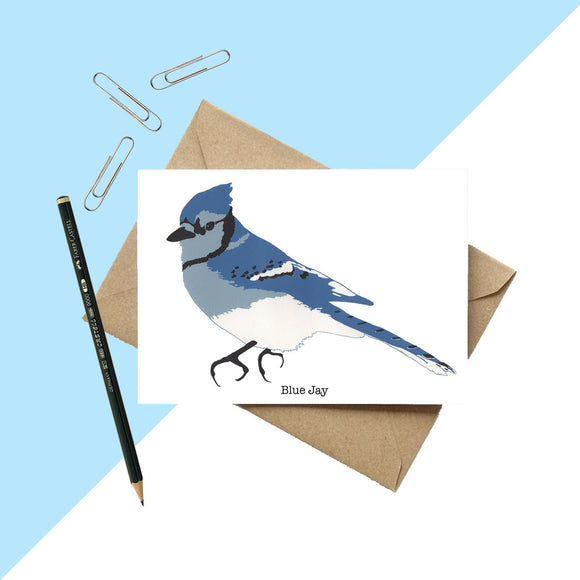 Blue Jay Greetings Card