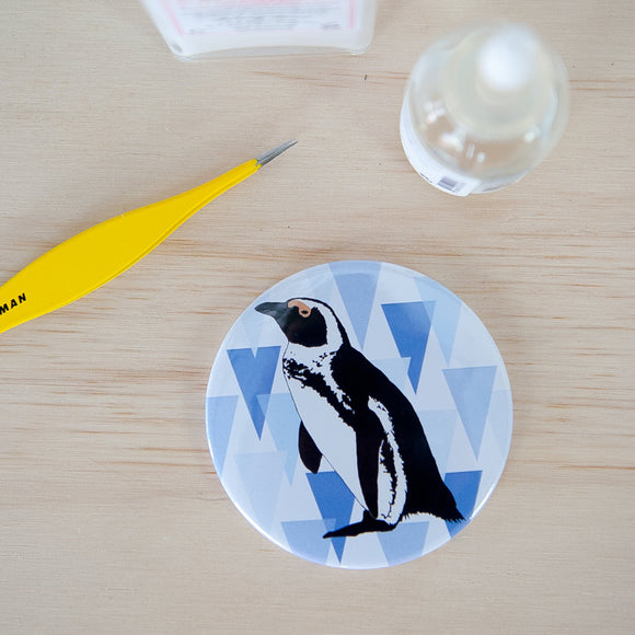 African penguin Pocket Mirror