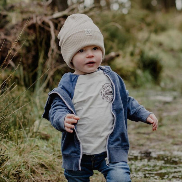 Explorer Baby Baseball Tee - Organic Cotton