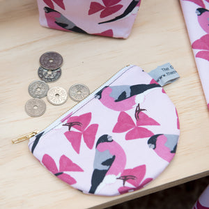Bullfinch Print Purse
