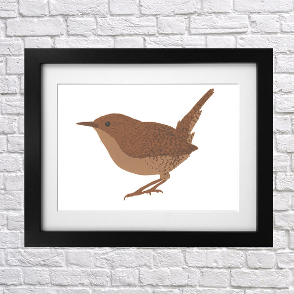 Wren Screen Print