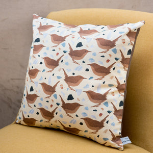 Wren Print Cushion