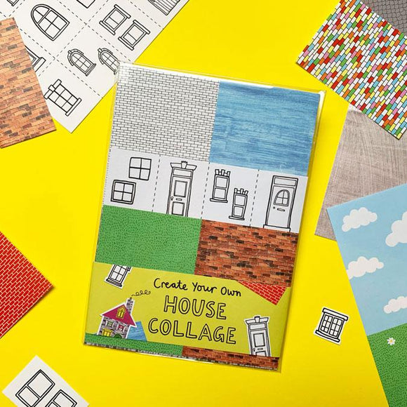 Collage Activity Pack - Create Your Own House Portrait