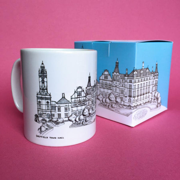 Sheffield Town Hall Ceramic Mug