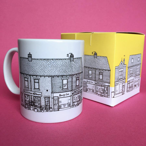Sheffield Shops Ceramic Mug