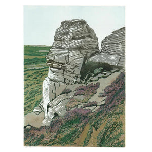 The Pinnacle at Froggatt Edge - Art Print