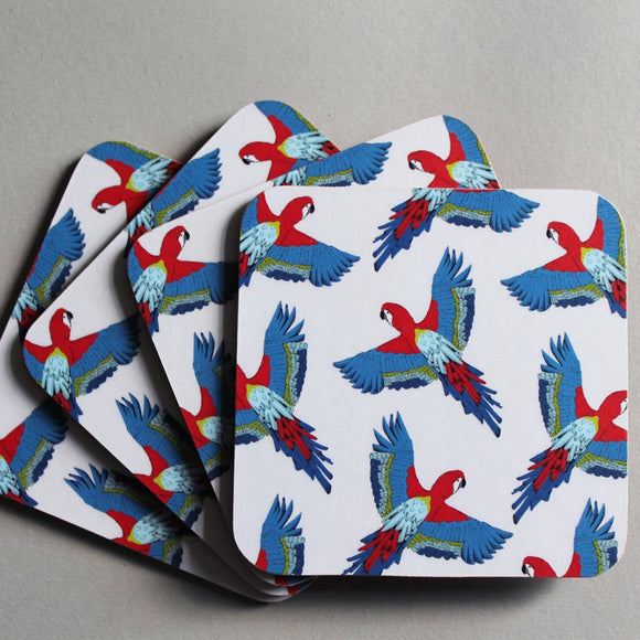 Parrot Coasters
