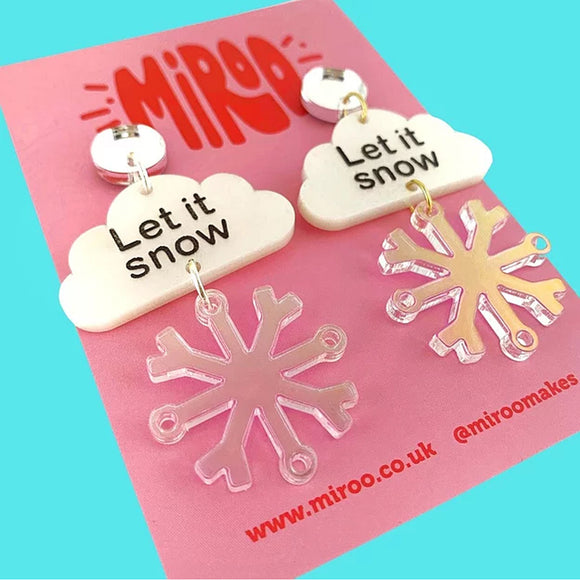 Let it Snow Earrings