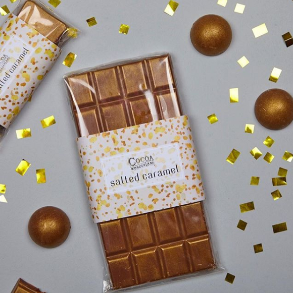 Salted Caramel Milk Chocolate Bar