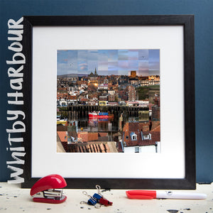 """100 Remnants of Whitby Harbour"" Photo Montage"