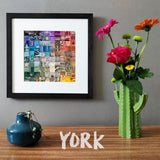 """100 Fragments of York in Colour"" Photo Montage"