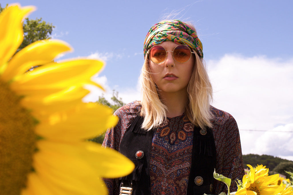 Southern Flower Lookbook Collab Desert Fox & Tigers Eye Bohemian Hippie Vintage