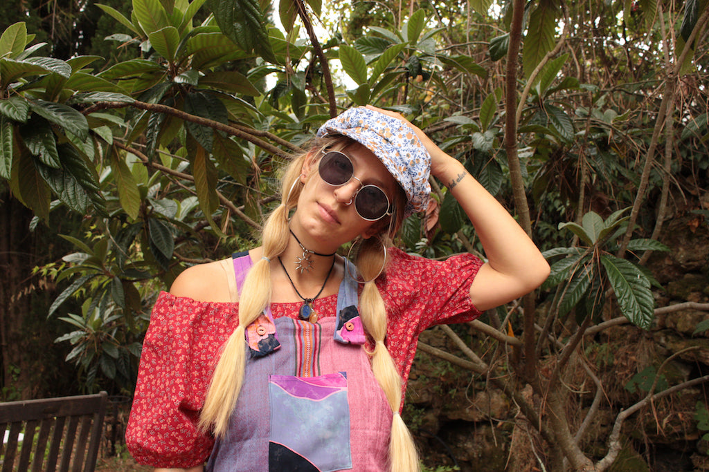 Boho Bohemian Hippie Vintage Clothing Lookbook Desert Fox Collective