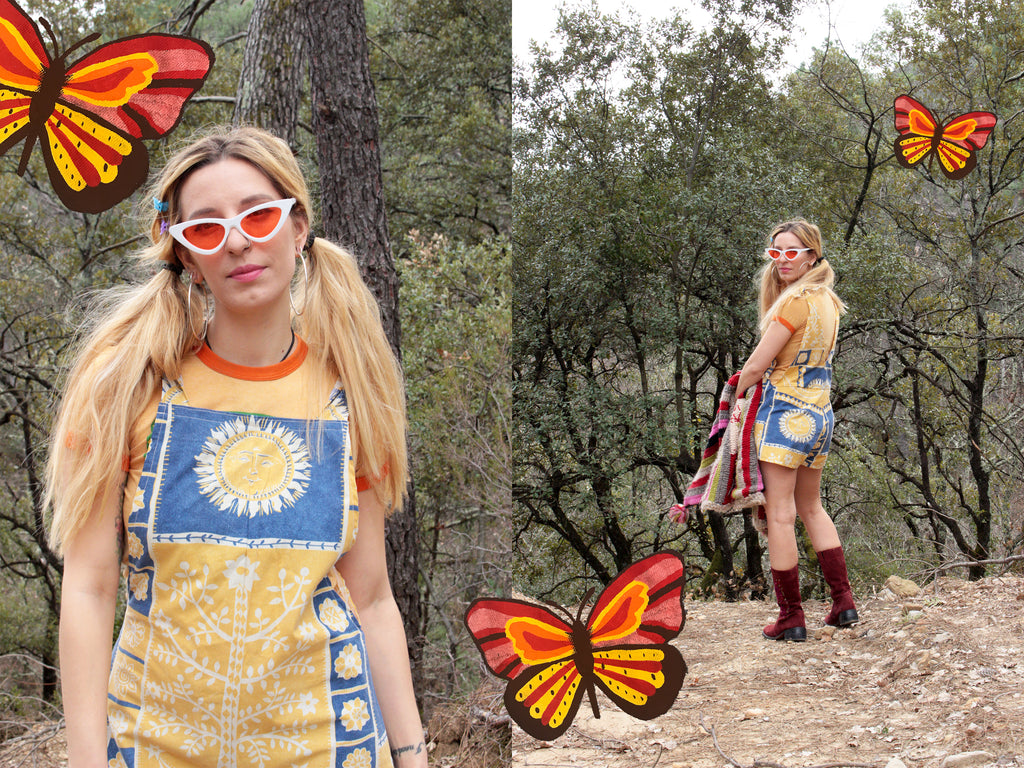 DESERT FOX FESTIVAL SUMMER LOOKBOOK VINTAGE WOMENS CLOTHING