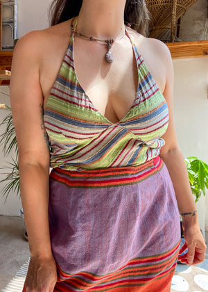 DESERT FOX Amelia Dress - Yellow Sunflower - M/L