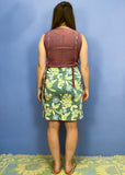 Vintage Hippie Tie Dye Embroidered Maxi Dress